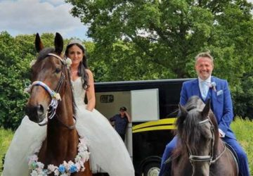 Animal lovers made sure their four-legged friends were part of their big day in Sittingbourne.