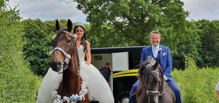 Feature image for the news article 'Animal lovers made sure their four-legged friends were part of their big day in Sittingbourne.'
